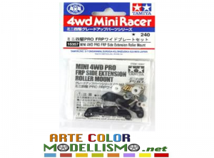 Mini 4wd Tamiya 15357 SUPPORTI ROTELLE FRP