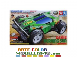 Mini 4wd Tamiya 18628 DASH 2 Burning Sun PRO