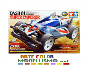 Mini 4wd Tamiya ITEM 18632 DASH 01 SUPER EMPEROR Pro