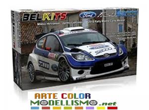BELKITS BEL 002 FORD FIESTA S2000  2010 RALLY MONTE CARLO WINNER