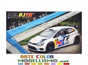 BELKITS BEL 005 VOLKSWAGEN POLO WRC CHAMPION 2013  RALLYE FRANCE