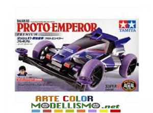 Mini 4wd Tamiya 18074 PROTO EMPEROR SUPER II CHASSIS