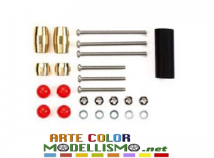 MINI 4WD TAMIYA ITEM 15501 Set MASS DAMPER SLIMLINE ULTRALEGGERO MINI4WDJAPAN