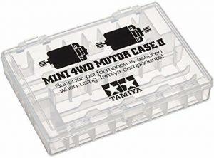 Mini 4WD Motor Case 2 II Cassetta Porta Motori Tamiya 95441 Smoke Colored