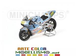 MINICHAMPS PMA ITEM 122 016186 HONDA NSR 500 MUGELLO 2001 VALENTINO ROSSI 1/12 SCALE
