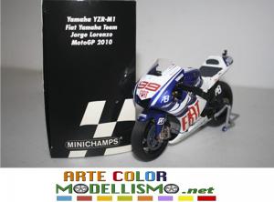 MINICHAMPS PMA ITEM 122 103099 YAMAHA YZR M1 MOTO GP 2010 LORENZO 1/12 SCALE