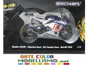 MINICHAMPS PMA ITEM 122 103046 YAMAHA YZR M1 MOTO GP 2010 VALENTINO ROSSI 1/12 SCALE