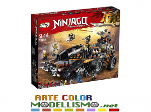 LEGO NINJAGO item 70654 Turbo-cingolato