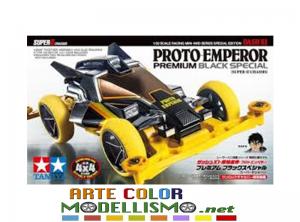 MINI 4WD TAMIYA ITEM 95450 DASH X1 PROTO EMPEROR BLACK TELAIO CHASSIS SUPER II
