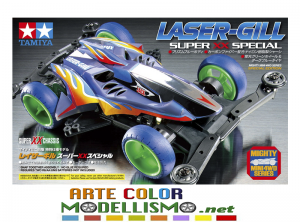 MINI 4WD TAMIYA ITEM 95468 LASER GILL TELAIO CHASSIS SUPER XX SPECIAL