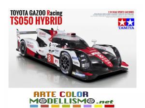 TAMIYA ITEM 24349 TOYOTA GAZOO Racing TS050 Hybrid 1/24 scale assembly kit RACING SCALE MODELS