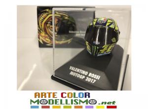 MINICHAMPS PMA ITEM 399 170046 CASCO / HELMET MOTO GP 2017 VALENTINO ROSSI 1/8 SCALE