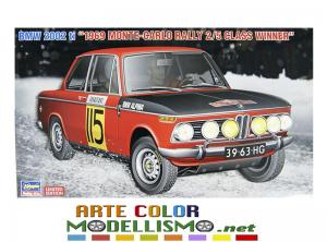 HASEGAWA ITEM 20420 BMW 2002 1969 MONTECARLO RALLY 1/24 SCALE KIT LIMITED EDITION