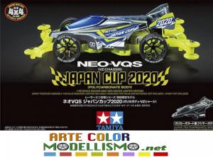 MINI 4WD TAMIYA ITEM 95130 NEO-VQS JAPAN CUP 2020 POLYCARBONATE BODY