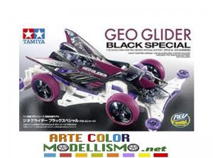 NOVITA' IN ARRIVO MINI 4WD TAMIYA ITEM 95564 GEO GLIDER BLACK SPECIAL LIMITED