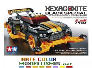 NOVITA' IN ARRIVO MINI 4WD TAMIYA ITEM 95565 HEXAGONITE BLACK SPECIAL LIMITED
