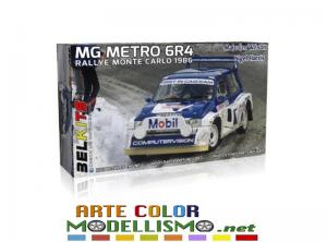 """BELKITS ITEM BEL 015 MG Metro 6R4 Rally Monte Carlo 1986 """" M.Wilson / N.Harris """""""