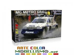 BELKITS ITEM BEL 016 MG Metro 6R4 Lombard RAC Rally 1986  J.McRae / I.Grindrod