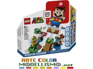 LEGO SUPER MARIO ITEM 71360 Avventure di Mario – Starter Pack
