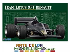 FUJIMI ITEM 09195 GP 3 TEAM LOTUS 97T RENAULT 1/20 GRAND PRIX COLLECTION