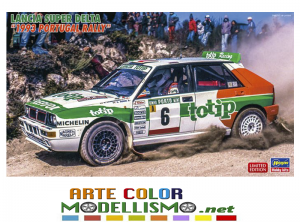HASEGAWA ITEM 20457 TOTIP LANCIA SUPER DELTA 1993 PORTUGAL RALLY 1/24 SCALE KIT