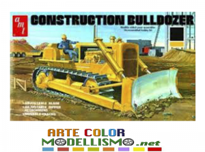 AMT ERTL ITEM 01086 CONSTRUCTION BULLDOZER 1/25 SCALE