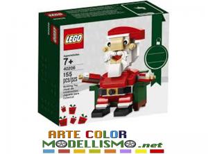 LEGO ITEM 40206 Christmas Santa Claus  BABBO NATALE