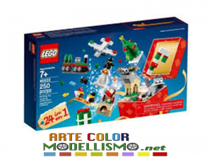 LEGO Christmas ITEM 40222   Grande costruzione di Natale 24  IN 1