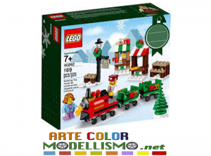 LEGO Christmas ITEM 40262 Viaggio Sul Treno Natalizio