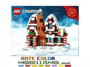 LEGO Christmas ITEM 40337 Casa di pan di zenzero in miniatura