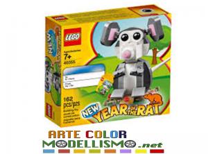 LEGO Christmas ITEM 40355 ANNO DEL TOPO SET ESCLUSIVO