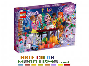 LEGO Christmas ITEM 41382 Calendario dell'Avvento Friends