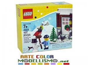LEGO Christmas ITEM 40124 WINTER FUN – GIOCHI SULLA NEVE