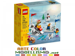 LEGO Christmas ITEM 40424 WINTER Battaglia con le palle di neve