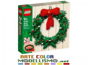 LEGO Christmas ITEM 40426 Ghirlanda natalizia 2 in 1