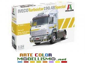 ITALERI ITEM 3926 CAMION IVECO TURBOSTAR 190.48 SPECIAL 1/24 SCALE SERIES TRUCKS