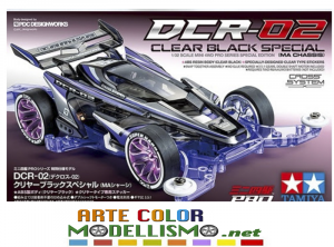 NEW IN ARRIVO MINI 4WD TAMIYA ITEM 95604 DCR-02 Clear Black Special Telaio MA CHASSIS