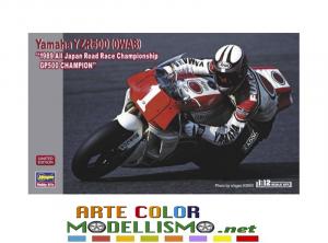 HASEGAWA BIKE ITEM 21738 Yamaha YZR500 1989 GP500 Champion SCALE KIT 1/12