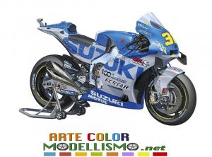 NEW TAMIYA MOTO ITEM 14139 Suzuki GSX RR Suzuki Ecstar Team BIKE 1/12 scale kit